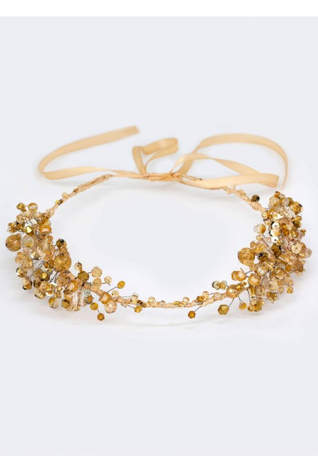 "Wreath ""Morelya"" gold"