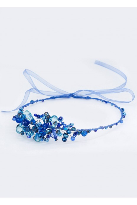"Wreath ""Voloshky"" blue"