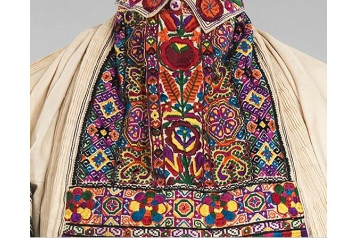 Embroidery in the Balkans