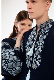 Embroideries for family Spadok dark blue