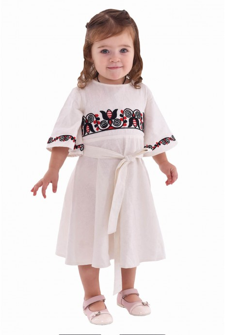"Embroidered dress for girl ""Berehynya"""