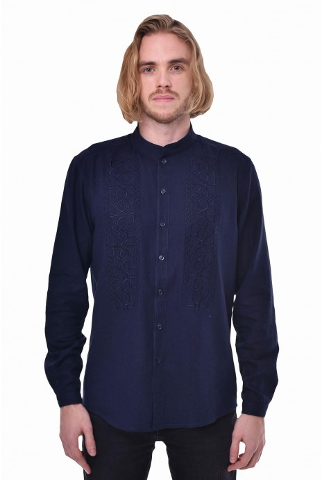 "Man's shirt ""Power"" navy"