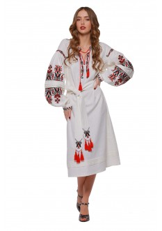 "Embroidered dress ""Beregynya"""
