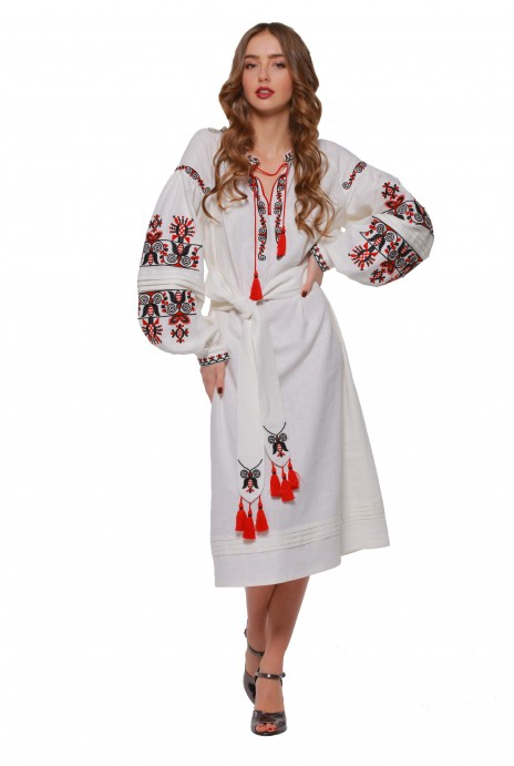 "Отзыв о товаре Embroidered dress ""Beregynya"" 14/07/2018"