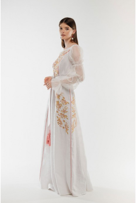 Embroidered dress Lelyika