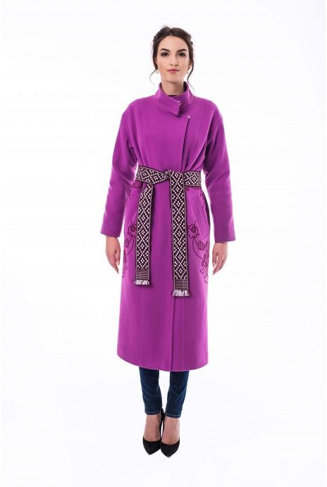 Пальто Царина розовое
