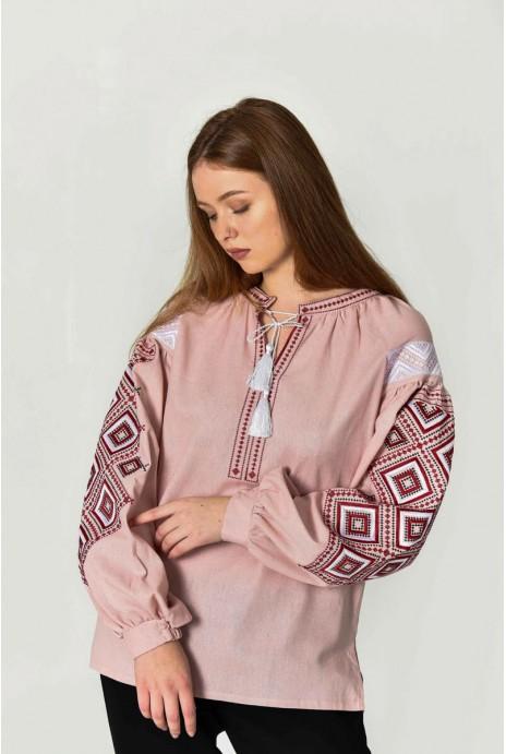 "Embroidery shirt ""Suzirya"" pouder"