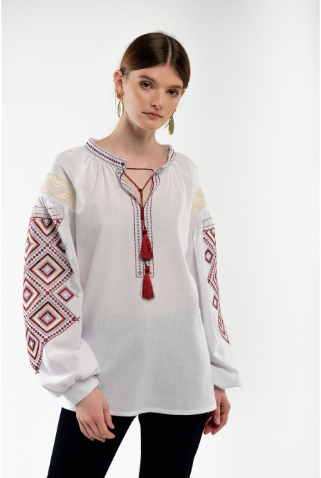 Embroidery for women Suzirya white