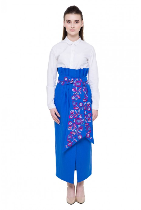 "Skirt ""Velych"" dark blue"