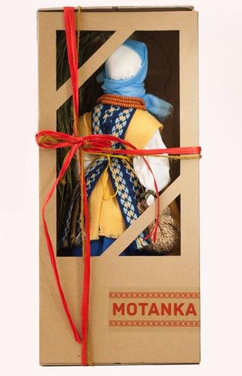 Подарункова лялька мотанка