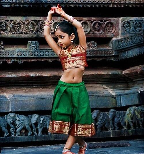 История индийськой вышивки
