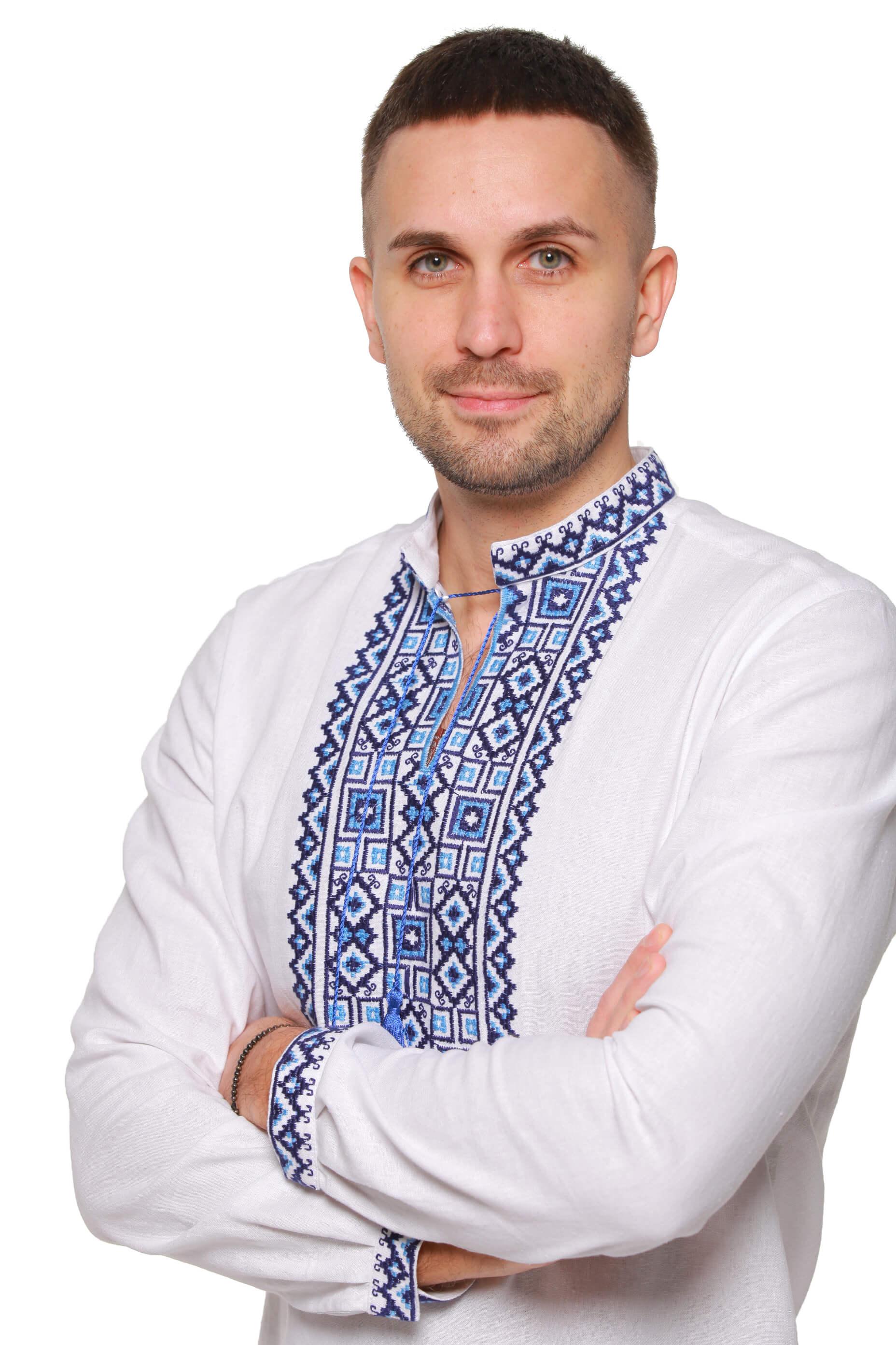 Вишиванка чоловіча. Купити чоловічі вишиванки в Києві — 2KOLYORY. 3cbb37e23ae1d