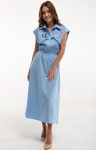 Dress with embroidery Sutsvittya light blue
