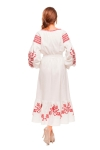 "Dress embroidered ""Cherry Orchard"""